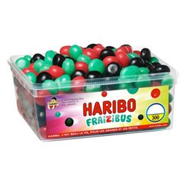 Haribo Fraizibus (lot de 2)