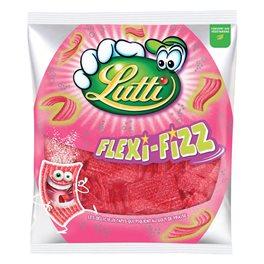 Lutti Flexi-Fizz Fraise 225g (lot de 2)