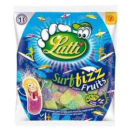Lutti Surfizz Fruits 200g (lot de 2)
