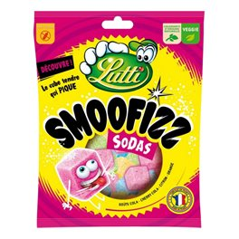 Lutti Smoofizz Sodas 200g (lot de 2)