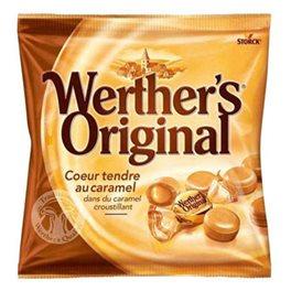 Werther's Original Coeur Tendre au Caramel (lot de 4)
