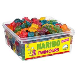 Haribo Twin Ours (lot de 2)