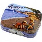 Amarelli Dragées de Réglisse Menthe Plage (Boîte métallique)