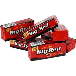 BIG RED Chewing-Gum Cannelle (Boîte de 8 paquets)