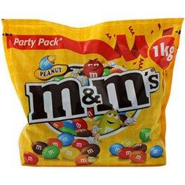 M&M's Peanuts Party Pack 1Kg