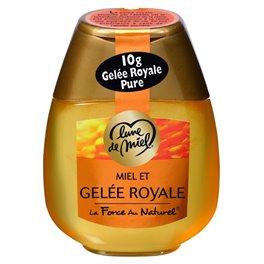 Lune de Miel 10g Gelée Royale Miel et Gelée Royale La Force au Naturel 250g (lot de 4)