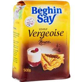 Béghin-Say Saveur Vergeoise Brune 500g (lot de 3)