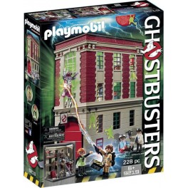 PLAYMOBIL 9219 Ghostbusters - Quartier Général Ghostbusters