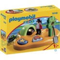 PLAYMOBIL 9119 1.2.3 - Ile De Pirate