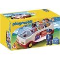 PLAYMOBIL 6773 1.2.3 - Autocar De Voyage