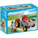 PLAYMOBIL 6131 Country - Fermier Avec Faucheuse