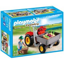 PLAYMOBIL 6131 Country - Fermier Avec Faucheuse