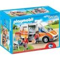 PLAYMOBIL 6685 City Life - Ambulance Avec Gyrophare Et Sirène