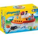 PLAYMOBIL 6957 1.2.3 - Navire Transportable