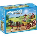 PLAYMOBIL 6932 Country - Calèche Avec Attelage