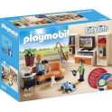 PLAYMOBIL 9267 City Life - Salon Equipé