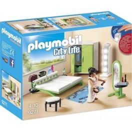 PLAYMOBIL 9271 City Life - Chambre Avec Espace Maquillage