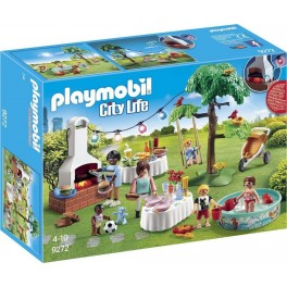 PLAYMOBIL 9272 City Life - Famille Et Barbecue Estival