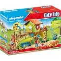 Playmobil 70281 - City Life - Parc de jeux et enfants