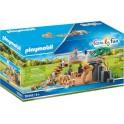 Playmobil 70343 - Family Fun - Famille de lions avec végétation