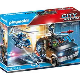 Playmobil 70575 - City Action - Police Camion de bandits et policier
