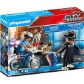 Playmobil 70573 - City Action - Police Policière et voleur