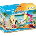 Playmobil 70435 - Family Fun - Bungalow avec piscine