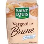 Saint Louis Vergeoise Brune 500g