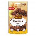 Vahiné Raisins Secs Les Classiques Fresh Zip 125g (lot de 3)