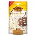 Vahiné Chocolat Blanc Pépites Origine Belge 100g (lot de 3)