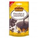 Vahiné Chocolat de Couverture Chocolat Noir 125g (lot de 3)