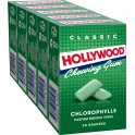 Hollywood Chewing-gum chlorophylle sans sucre