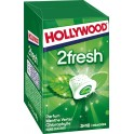 Hollywood Chewing-gum menthe verte s/sucres